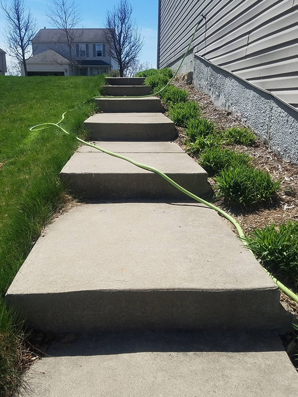 concrete-leveling-outside_steps_after